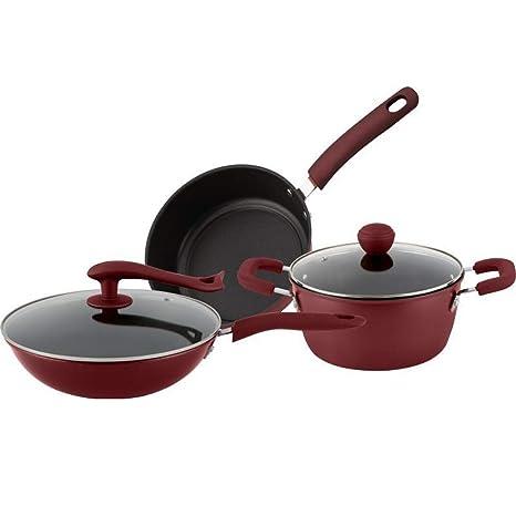 Amazon.com: Juego de utensilios de cocina, sartén ...