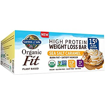 garden of life weight loss. Garden Of Life Organic Fit Bar, Sea Salt Caramel, 12 Count Weight Loss E