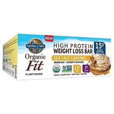 Garden of Life Organic Fit Bar Sea Salt Caramel (12 per Carton)