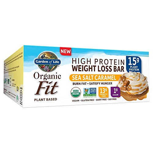 Garden of Life Organic Fit Bar Sea Salt Caramel (12 per Carton)