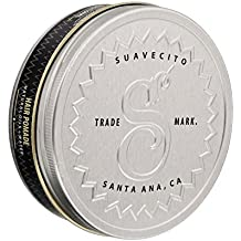 Suavecito Premium Blends Pomade- All Natural Hair Pomade for Men (4 oz).