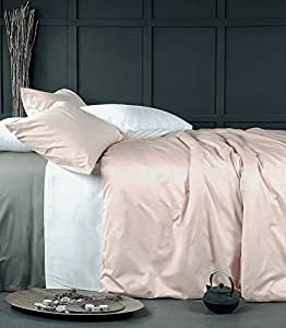 Amazon Com Rose Gold Duvet Cover Luxury Bedding Set High