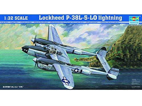 トランペッター 1/32 ロッキード P-38L-5-LO ライトニング プラモデル B071RQBXQH