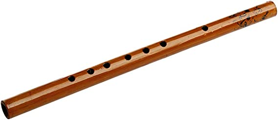 Traditional 6 Hole Bamboo Flute Dizi Musical Instrument zhuangyulin6 1PC Traditional 6-Hole Bamboo Flute Clarinet Student Musical Instrument Wood Color