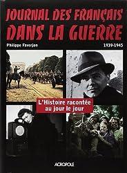 Journal des Français dans la guerre 1939-1945