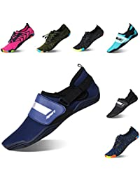 Womens and Mens Quick Dry Water Shoes Barefoot Aqua Sock Shoes for Beach Surfing Yoga Running Exercise