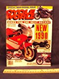 1989 89 December CYCLE WORLD Magazine (Features: Road Test on 1990 BMW R100 RG Paris Dakar & 1990 Ducati 750 Sport, + ZX Marks The Spot: Kawasaki Ninja's For The '90's)