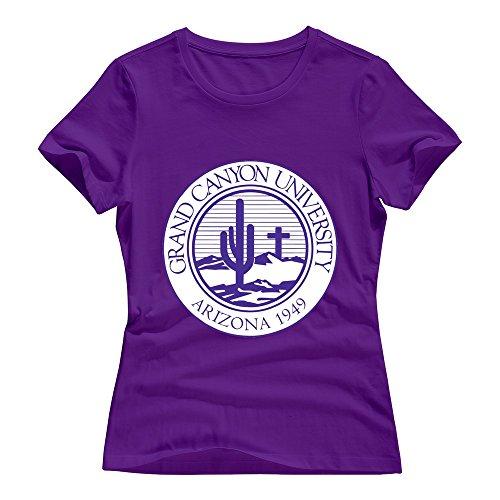 Ptshirt.com-18989-VAVD Female\'s Grand Canyon University 100% Cotton T-Shirt-B014HSN3EA-T Shirt Design