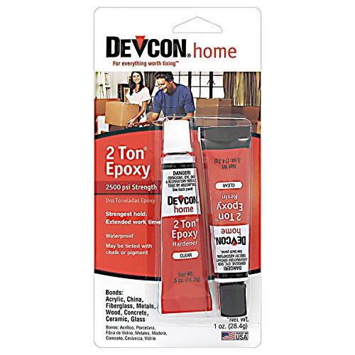 Devcon 35345 2 Ton Clear Epoxy - 0.5 oz. 2-Part - Clear Two Part