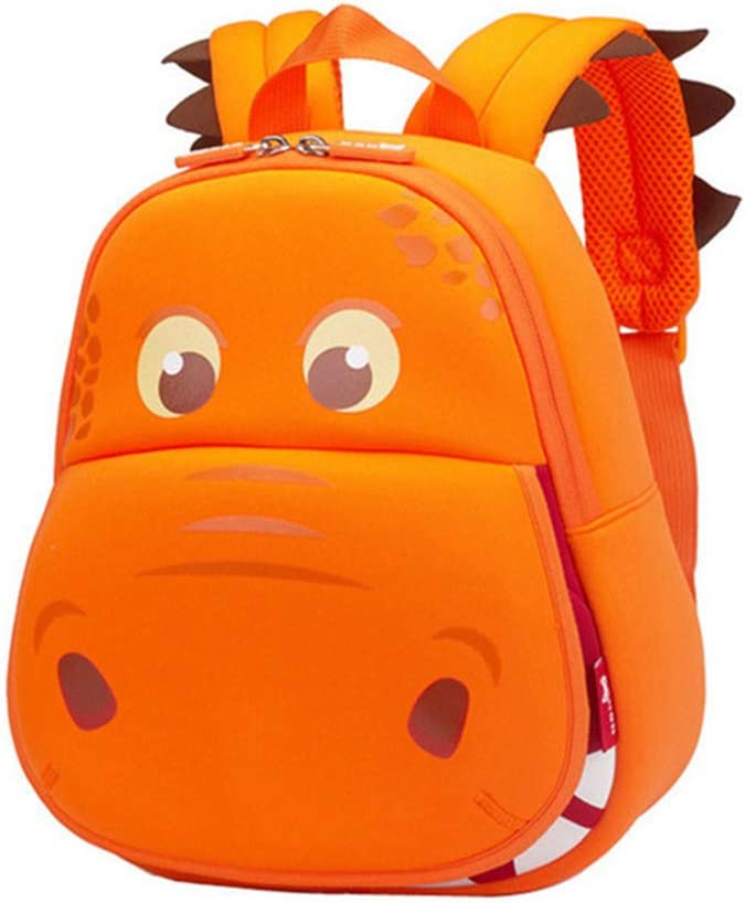 Waterproof Cartoon Backpack Pig 2-6 Ages School Bag Book Rucksack Girl Boy Bag