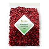 Dried Barberries 50g Natural Raw & Premium Quality Barberry, a Great Dried Cranberries Alternat