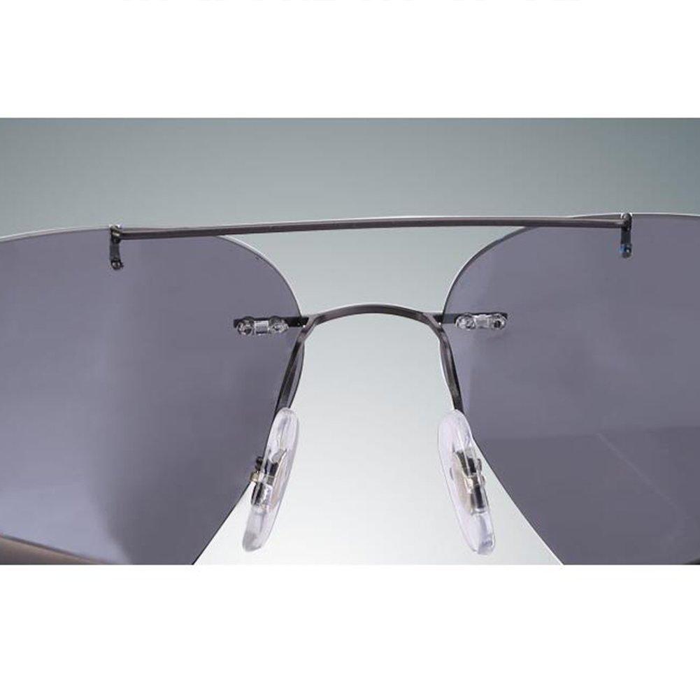SUNNY Gafas de Sol Hombres polarizadas de Aleación de Puro Titanio ...