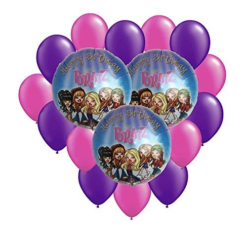 - Bratz Happy Birthday Balloon Bouquet 17pc