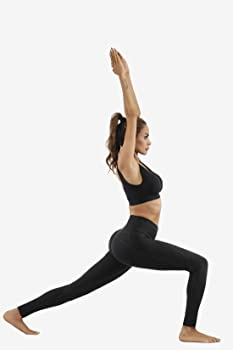 High Waist Yoga Pants - Yoga Pants with Pockets Tummy Control, 4 Ways Stretch Workout Running Yoga Leggings