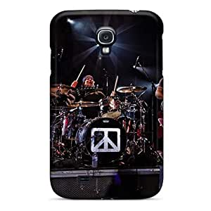 Scratch Resistant Cell-phone Hard Covers For Samsung Galaxy S4 (DAM6521pgBI) Unique Design High Resolution Red Hot Chili Peppers Pattern