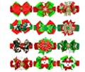 Baby Girl's Barrette Colorful Hairpin Boutique Hair Bow Clips Red Christmas Birthday gift for Girls