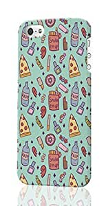 Girly Sleepover Pattern Image - Protective 3d Rough - Hard Plastic 3D Case - For SamSung Note 3 Phone Case Cover