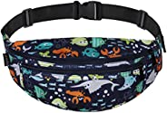 Ryaco Fanny Pack, Waist Bag for Men&Women, Water Resistant Running Belt with Adjustable Strap for Outdoors