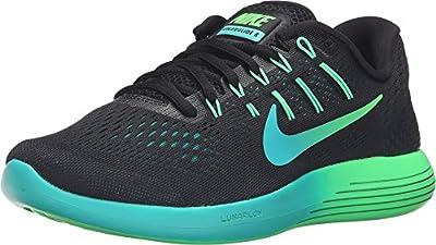 Nike Women's Lunarglide 8 Running Shoe, Black/Multi Color/Rio Teal/Clear Jade, 6 B(M) US