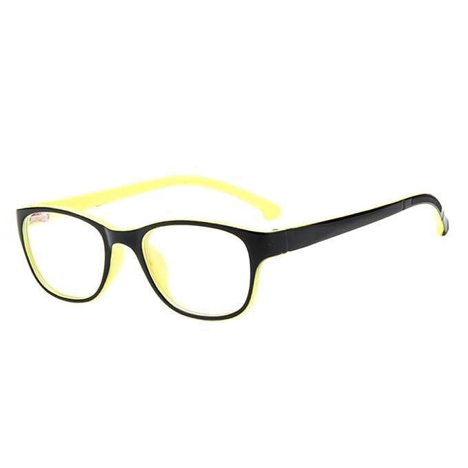784276617a4f5 Fuyingda Niños Niñas Anteojos de miopía óptica borde completo clásicos  Monturas de gafas Marco Lentes lente clara  Amazon.es  Ropa y accesorios
