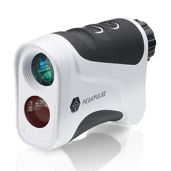 PEAKPULSE 6Pro Slope Golf Rangefinder, Golf Laser Range Finder with Slope Compensation