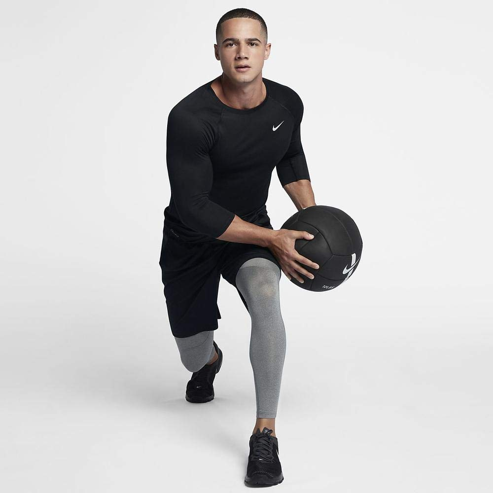 Nike Pro Men's Training Tights (Carbon Heather, M) by Nike (Image #3)