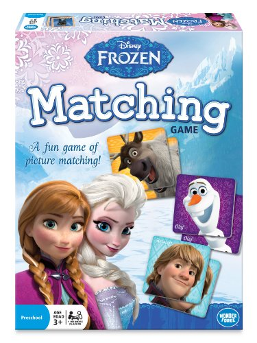 Wonder Forge Disney Frozen Matching Game