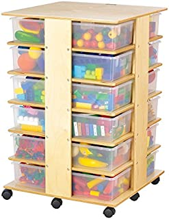 product image for Jonti-Craft 03640JC 24 Tub Tower with Clear Bins