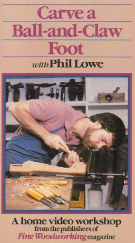 Carve a Ball and Claw Foot [VHS] -