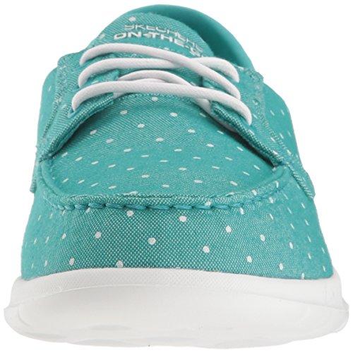 Turquoise Soleil Skechers15437 Walk Femme Lite Go nSS1qROX
