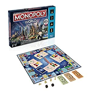 Hasbro Spiele B2348100 - Monopoly World, Spiel