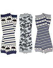 judanzy 3 Pack of Baby and Toddler Boy Leg Warmers