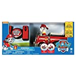 Paw Patrol My First RC Marshall Rescue Racer Remote Control Fire Truck for Ages 3 and Up