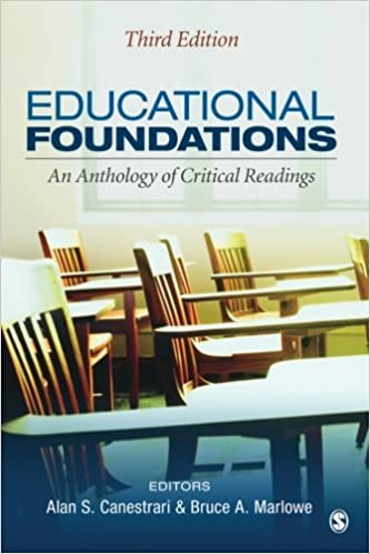 Educational foundations an anthology of critical readings volume 3 educational foundations an anthology of critical readings volume 3 third edition fandeluxe Images
