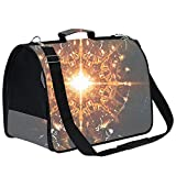 PILLO Anima Messis Extra Large Cat Carrier Soft Sided Folding Small Medium Dog Pet Carrier Travel Ventilated Comfortable Design Portable Vehicle