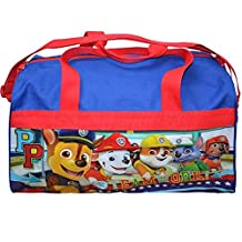 Paw Patrol 600D Polyester Duffle Bag with printed PVC Side Panels