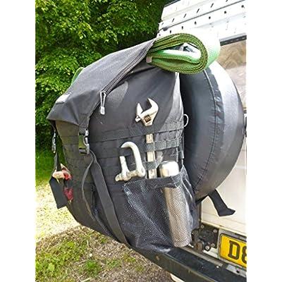 Trasharoo Spare Tire Trash Bag BLACK: Sports & Outdoors