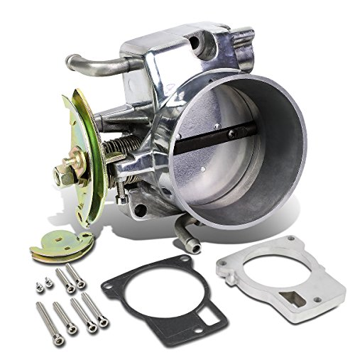 Aftermarket Camaro Body (Chevy Camaro High Flow Cast Aluminum 100mm Intake Manifold Throttle Body (Silver) - F Body)