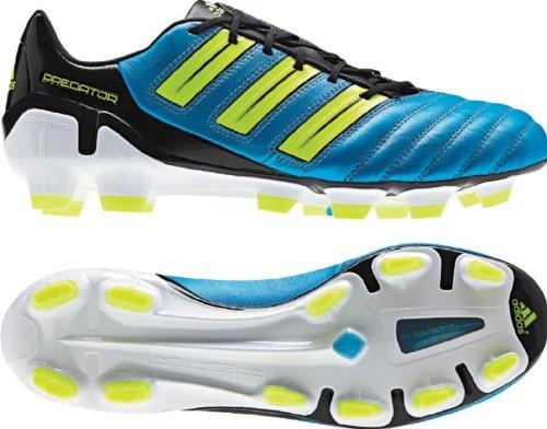 Adidas adipower Predator TRX FG US Men's 12 M (SharpBlueMetallic/Electricity/Black)