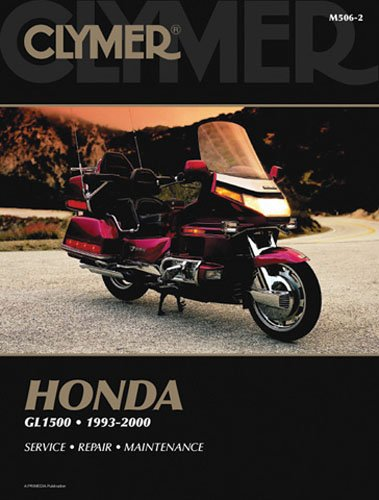 amazon com clymer repair manual for honda gl1500 goldwing 93 00 rh amazon com 1989 Honda Goldwing 3 Trike 1987 Honda Goldwing