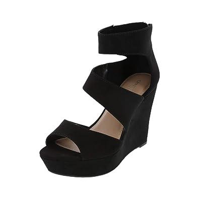 62731b813b Amazon.com | Christian Siriano for Payless Women's Shay Platform Wedge |  Platforms & Wedges