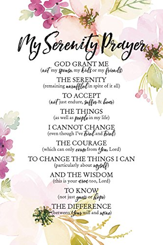 Dexsa My Serenity Prayer Woodland Grace Series 6