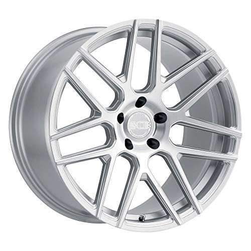 XO Moscow Custom Wheel Silver - with Milled Spokes and Brushed Face - 19
