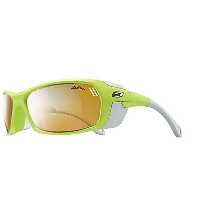 Julbo Bivouak Zebra - Gafas de esquí, color Verde Gris, talla única ... a24a72c51278