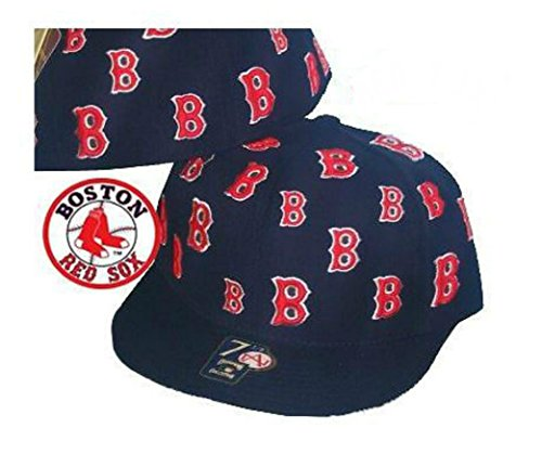 Boston Red Sox TRICK TRADE Fitted 7 1/4 Hat Cap