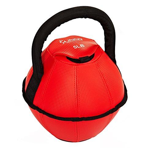 Sunny Health & Fitness No. 073-5 Soft Kettlebell -5lb 5