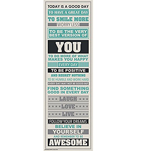 Poster  Hatop Be Awesome Inspirational Motivational Happiness Quotes Decorative Poster Print