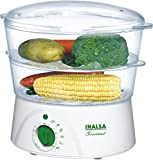 Inalsa Gourmet 400-Watt Food Steamer (White)