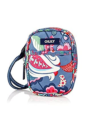 Oilily Luxurious Fall/Winter Collection Denim Print Crossbody Pouch OCB2228-5400