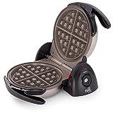 Presto 03510 Ceramic Flipside Belgian Waffle Maker Black, 2-Pack